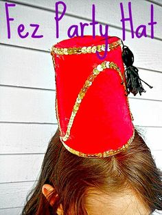 A Crafty Arab: Egyptian Fez Party Hat Tutorial