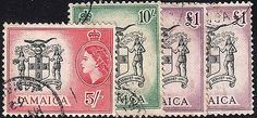 Jamaica-SG172-4-FU-With-Extra-Shade-of-£1 Jamaica, Stamps, Personalized Items, Seals, Negril Jamaica, Postage Stamps, Stamp