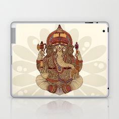 Ganesha: Lord of Success Laptop & iPad Skin by Valentina - $25.00