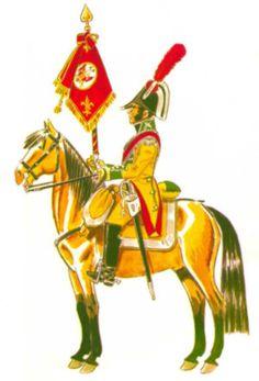 Dragones de Villaviciosa 1808 Portaestandarte