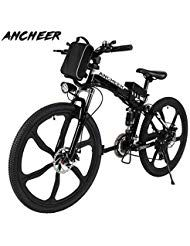 Ancheer Elektrofahrrad 26zoll 20zoll Zoll E Bike Mountainbike 25 50km H Meilen Kilom Electric Mountain Bike Best Electric Bikes Folding Electric Mountain Bike