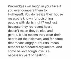 This is so my brother. He was wondering how he fit in Pukwudgie (he's a Gryffindor) and this cleared things up!