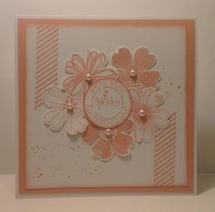 Stampin up flower shop gorgeous grunge