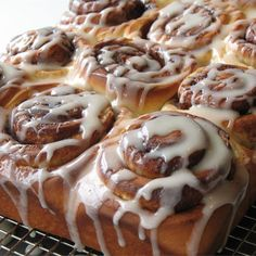 "I don't make cinnamon rolls often, but when I do, I use this ""Clone of a Cinnabon"" recipe. And the quote ""I'll save so much money"" cracks me up every time! How much Cinnabon can one eat? Clone Of A Cinnabon Recipe, Clone Recipe, Star Recipe, Breakfast And Brunch, Breakfast Recipes, Recipes Dinner, Brunch Recipes, Breakfast Bake, Morning Breakfast"