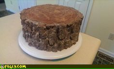 This Is A Birthday Cake I Made For Clarence My Woodcutter Friend