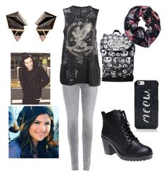 """""""Untitled #84"""" by nikasopkovicova2 on Polyvore featuring J Brand, Vans, Wet Seal, Kate Spade and Nak Armstrong"""