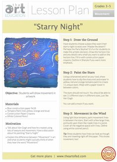 http://www.theartofed.com/2013/02/01/starry-night-free-lesson-plan-download/