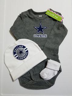 baby dallas cowboys outfit-dallas cowboys baby shower gift-dallas cowboys  newborn dallas cowboys baby outfit dallas cowboys take home 19ffa802e