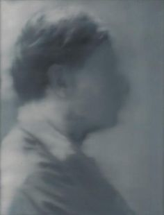 Gerhard Richter, Portrait Laszlo, 1965, 90 X 70 cm, Oil on canvas