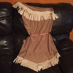 My homemade Pocahontas Costume for under $20