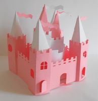 cut out castle template - free printable disney castle with instructions for