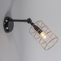 Wall Lamp Frame C Copper