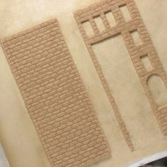 Great details for gingerbread houses.