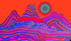 illustration psychedelic gif | WiffleGif