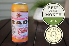 TheHopReview - Beer of the Month July '14 - Sixpoint RAD Beer Of The Month, Bottle Shop, July 14, Brewery, Ale, Travel Photography, Ale Beer, Ales, Travel Photos