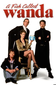 A Fish Called Wanda is a 1988 Comedy, Crime film directed by Charles Crichton & John Cleese and starring John Cleese, Jamie Lee Curtis. Good Movies On Netflix, 80s Movies, Funny Movies, Comedy Movies, Great Movies, Funniest Movies, Awesome Movies, Watch Netflix, Bon Film