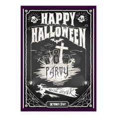 #Halloween #Monster Party Invitation Cards for more like this go to http://www.zazzle.com/spice?rf=238656250999501047