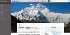 Wikimedia, new design plugin für Chrome