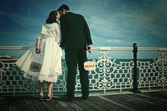 Fifties-inspired wedding