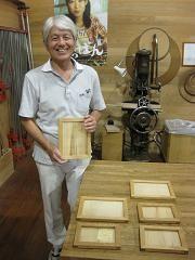 2010年9月4日 みんなの作品【額・鏡・壁飾り】|大阪の木工教室arbre(アルブル)