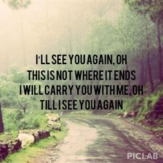 carrie underwood lyrics quotes see you again - Google Search
