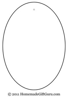 Impertinent image for printable oval template