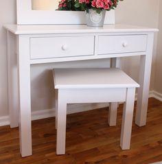 Dressers - Bay Tree Home & Decor White Dressing Tables, Tree Furniture, Dresser, Vanity, Bedroom, Dream Homes, Home Decor, Dressing Tables, Powder Room