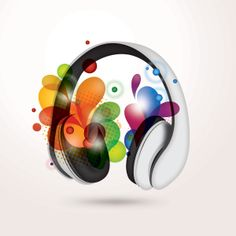 Colourful Music Vector Graphic (LIFE)