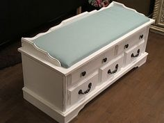 another cedar chest makeover