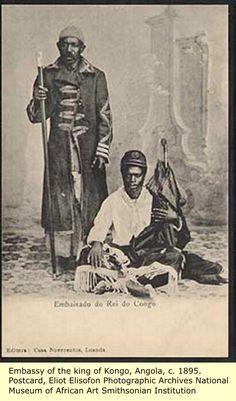 (1895) Embassy of the King of Kongo, Angola