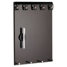 Metro Magnetic Memo Board in Black