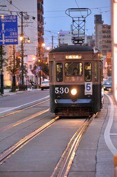 Hakodate Japan Train, Hakodate, Adirondack Park, Light Rail, Sapporo, Dream City, Japanese Prints, Heaven On Earth, Japanese Culture
