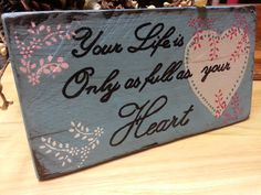 Distressed hand painted painted Wood Quote by TeesTransformations, $15.00
