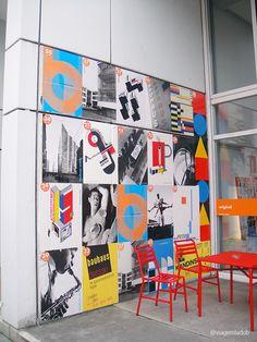 Bauhaus Museum - Cartazes - Berlin / Alemanha