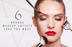 左試右試,不如聽聽時尚名人的化妝師分享私心最愛!這 6 大品牌的彩妝品,你都擁有了嗎?