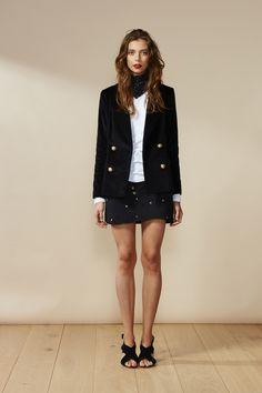 RUBY Georgina Blazer, No Drama Longsleeve & Frances Star Miniskirt