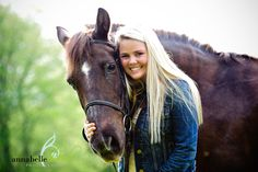 with horses, I would die if I could have a horse in my picture.