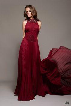 garnet color dress - Google Search