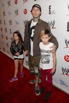 Travis Barker - Arrivals at WWE's 'Superstars for Hope' Event — Part 2