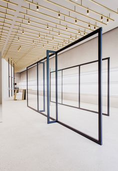 Jil Sander's New Berlin Store by Andrea Tognon Architecture | Yellowtrace