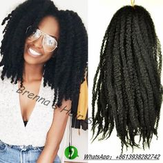 http://www.aliexpress.com/store/product/16inch-Afro-Marley-Braid-kinky-twists-kanekalon-synthetic-hair-extensions-afro-marley-kinky-braiding-hair-free/1960805_32657195142.html