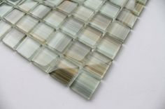 Sample - Utaupia Taupe, Ocher, Brown, Beige Hand Painted 1x1 Glass Mosaic Tiles for Kitchen Backsplash or Bathroom Rocky Point Tile,http://www.amazon.com/dp/B00CZFEANG/ref=cm_sw_r_pi_dp_60Nwtb0NPX7RJBBD