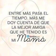 Amo a mi madre con el corazón