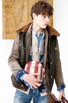 """visvim 2013 Fall/Winter """"Dissertation on a Man with No Country Vol.2″ Lookbook"""