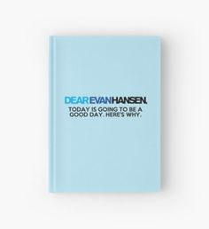 Dear Evan Hansen, Hardcover Journal