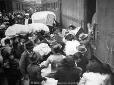 Japanese Internment - Train