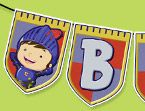 Mike the Knight Birthday Banner