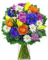 jarní kytice - doručení květin Floral Wreath, Wreaths, Decor, Floral Crown, Decoration, Door Wreaths, Deco Mesh Wreaths, Decorating, Floral Arrangements
