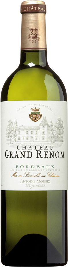 White Bordeaux, who knew ?  Chateau Grand Renom