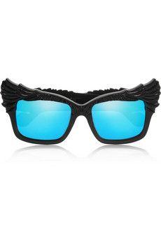 Anna-Karin Karlsson The Escapist cat eye acetate mirrored sunglasses | NET-A-PORTER